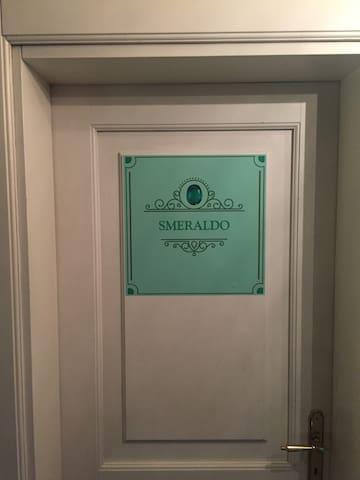 Entrata camera smeraldo