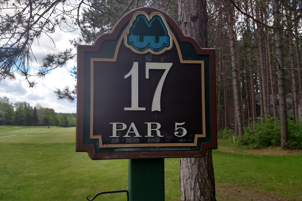 Located on 17th Tee of The Pines
