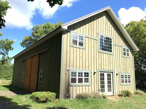 Barn Loft at The Truing Stand Farm