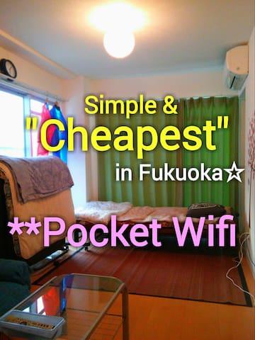 Good Access Tenjin★pocket wifi★ New Open SALE ☆☆☆