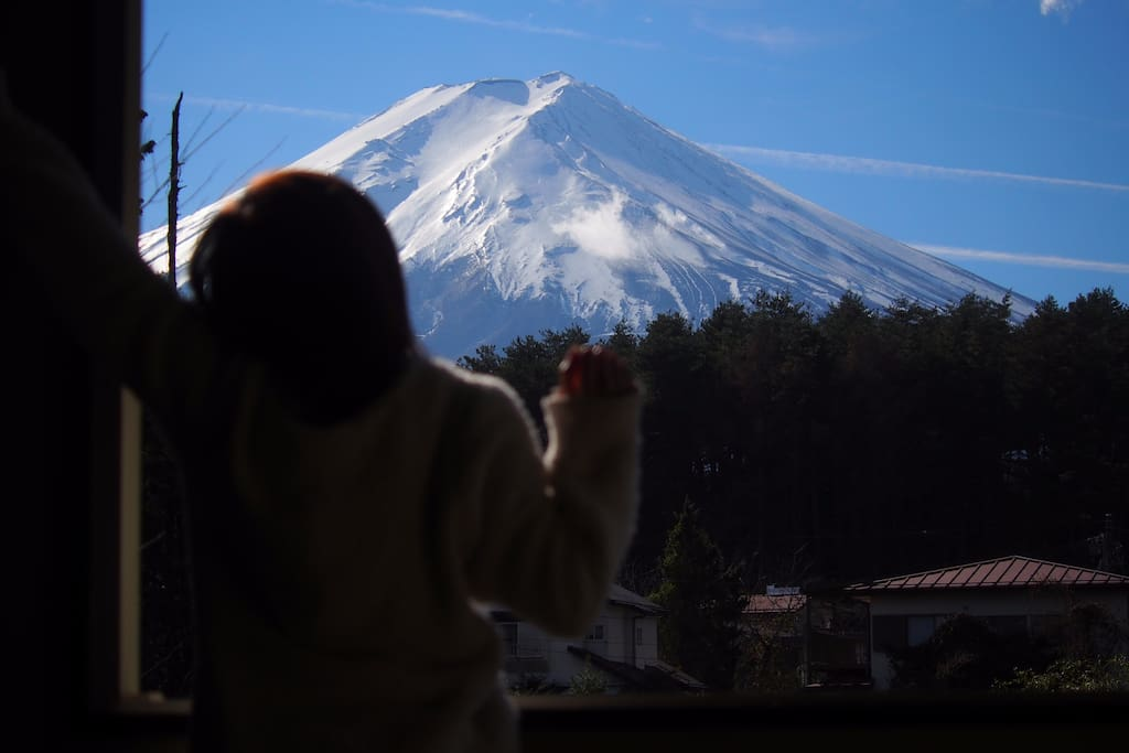 Amazing Mt.FUJI from the room