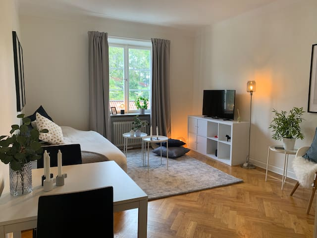 Studio in trendy Södermalm by Vitan