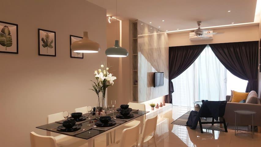 Malacca @ Aeon Designer Top floor 3R2B for 10pax