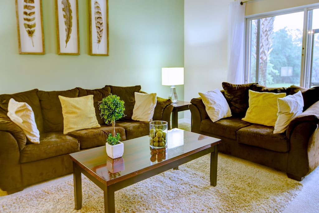 Vacation Townhome Living Room