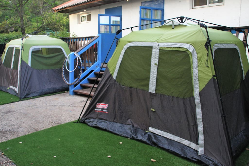 Our Tents :-)