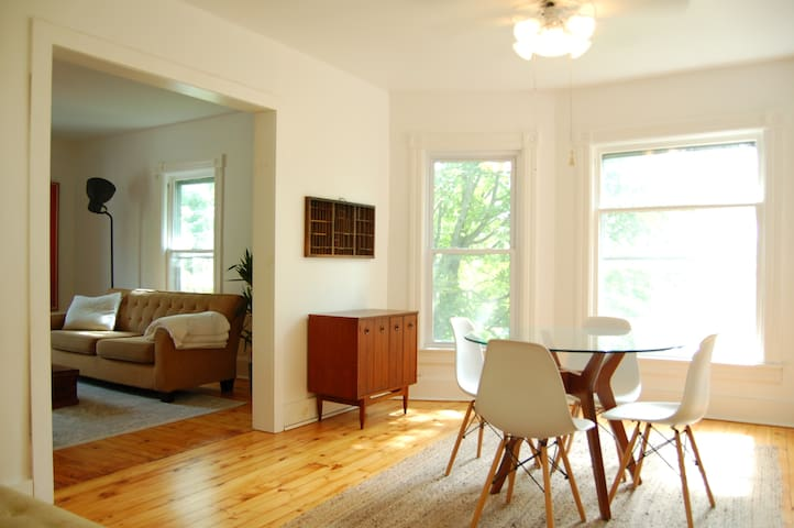 Sun-filled Victorian Apartment in the Catskills