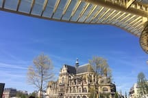 St Eustache Church viewed from Les Halles