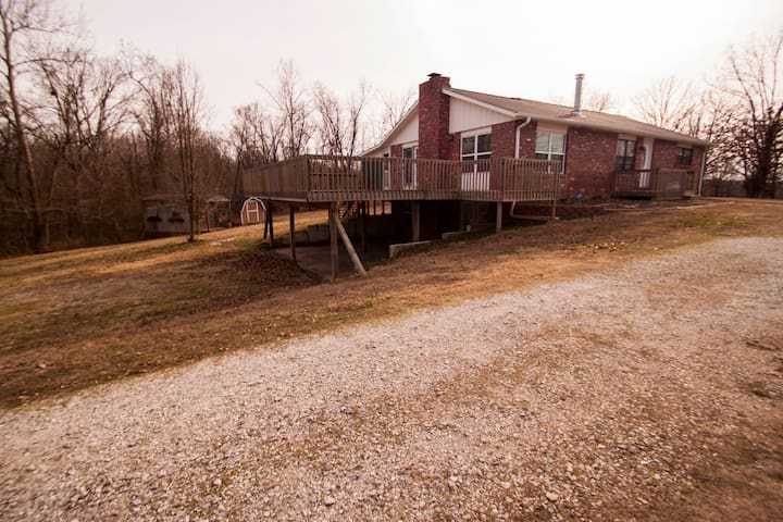 Country Retreat near Beaver Lake - Monte Ne Branch - Rogers - Ev