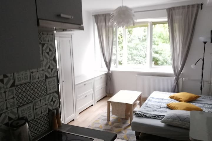 Cosy studio near Old Town and Polin Museum