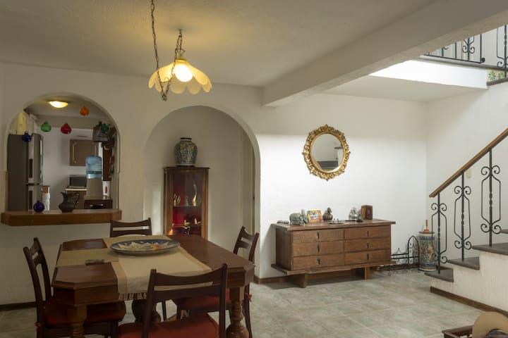 Habitación A, En Casa tranquila en Querétaro - Santiago de Querétaro
