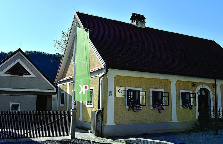Apartemnt for 4 in a small village Podsreda
