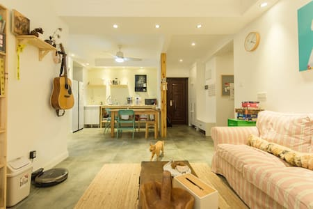 【野陶舍】 ceramist's Apartment,300m²,3 lovely cats - Hangzhou Shi - Bed & Breakfast