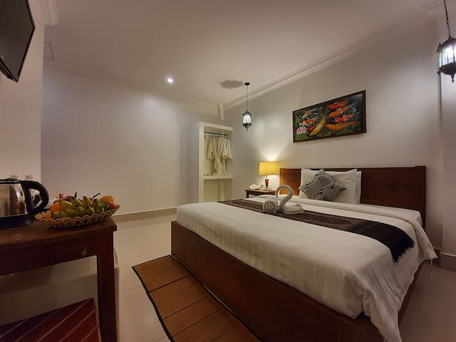 Standard Double Room with free wifi@Siem Reap
