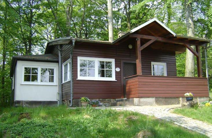"""Ferienhaus """"Sperlingslust"""" (3* DTV-Klassifizierung) in Sachsen, Oberlausitz, Lausitz, Oberlausitzer Bergland, Zittauer Gebirge, Sächsische Schweiz"""