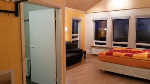 Skyggnir B&B 1 - ideal family room w/perfect view