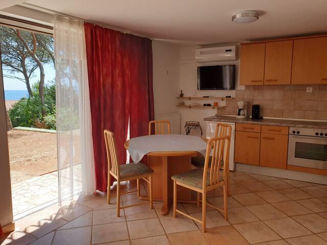 Gemütliches Apartment mit Gartensitzplatz