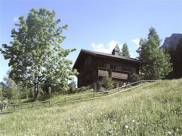 Mountain Chalet in Liechtenstein - Gaflei - Lomamökki