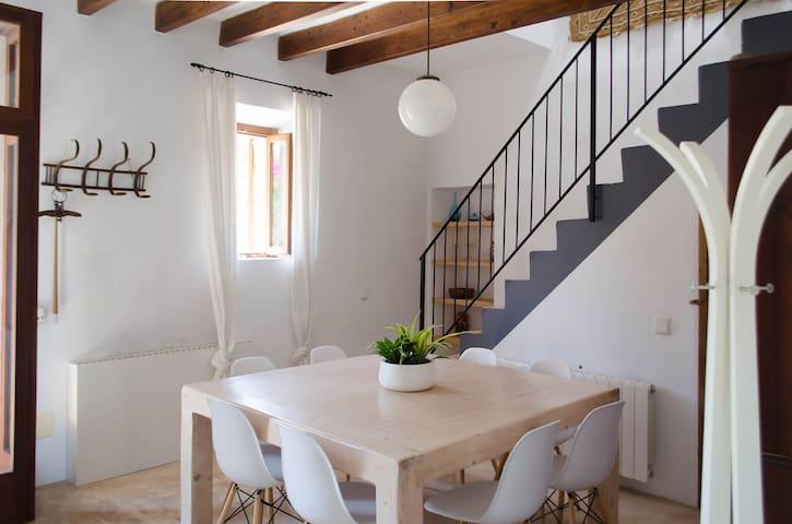 Casa de campo con piscina privada en Sant Llorenç. - Sant Llorenç des Cardassar - Huis