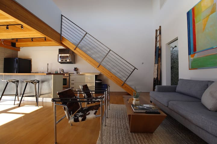 Light and Airy Loft with Great Views Near Midtown