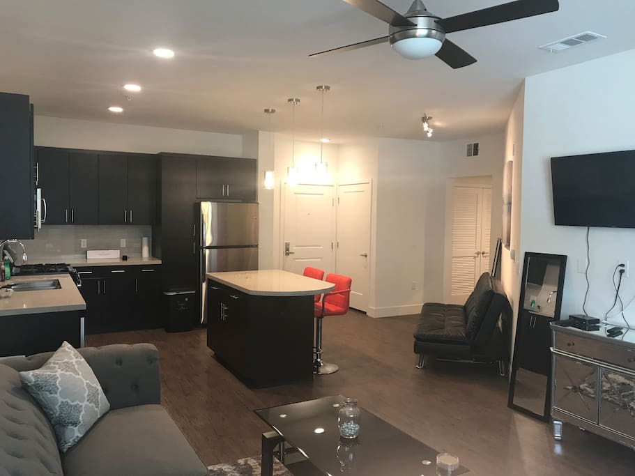Living area with wifi Flatscreen