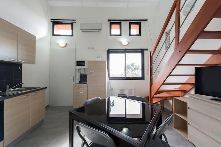 Bungalow 2 Bord de Mer - Saint-Raphaël - Apartamento