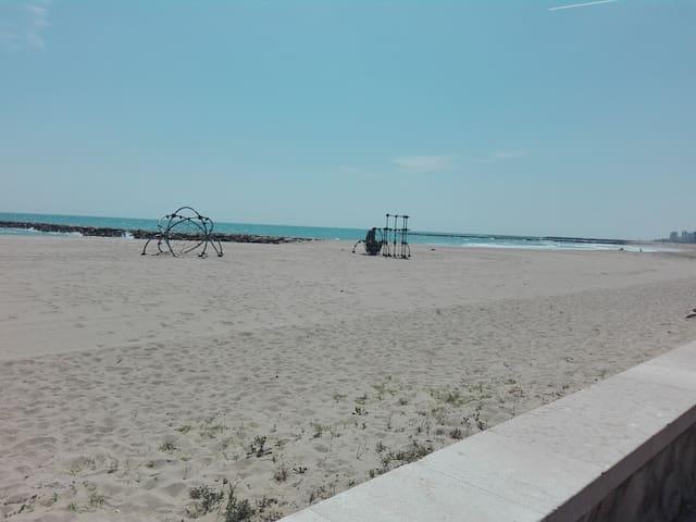 atico duplex en la playa de puzol