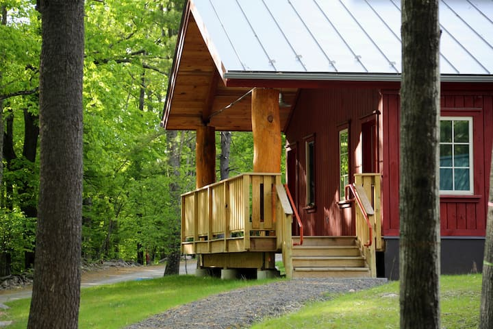 Red Maple Lodge with Porch -  w/ all meals, onsite nature trails & more