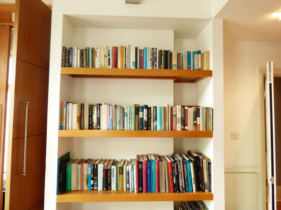 Help yourself to a book to read during your stay.