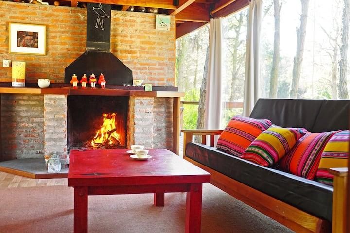 Loft Rouge, vivir en  la paz del bosque