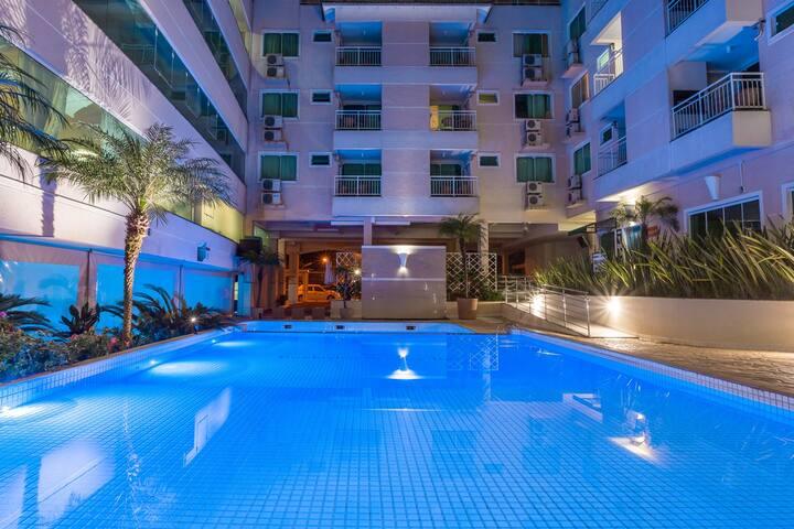 Linda Cobertura Hotel Summer Beach Bombinhas