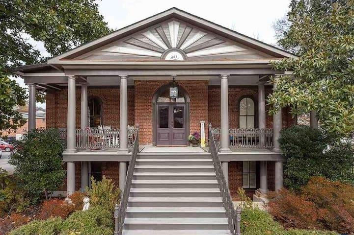 """The Whiteside"": An impeccably restored Historic 1854 Brick Home in Oxford, AL"