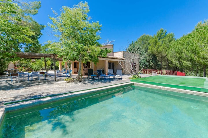 YourHouse Sa Cova - charming country house with pool in Petra