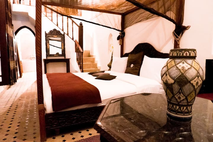 Suite 4 people - Chocolate - Riad