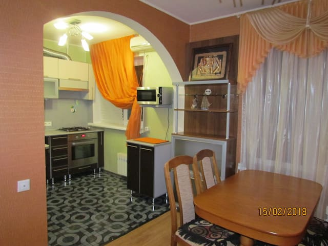 Апартаменты на проспекте Курчатова