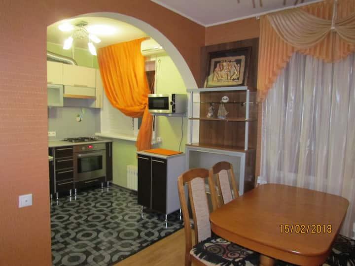Комфортная 2-х комнатная квартира на пр Курчатова