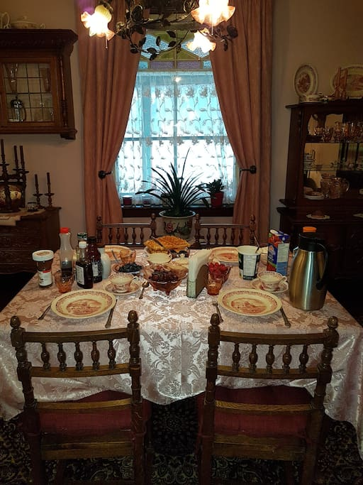 Our Dining/Breakfast Room