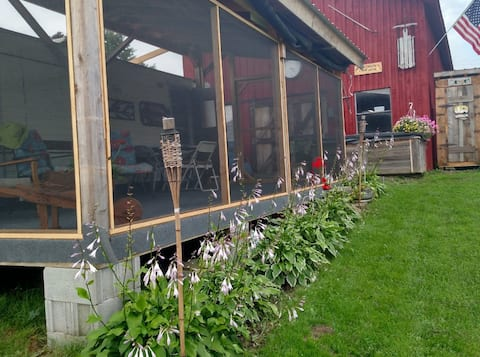 #1 Private camper Cortland County peaceful farm.