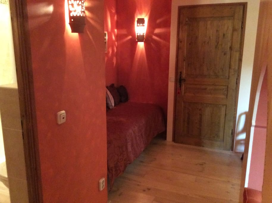 Een 3e bed mogelijk voor een 3e persoon a €20- per nacht