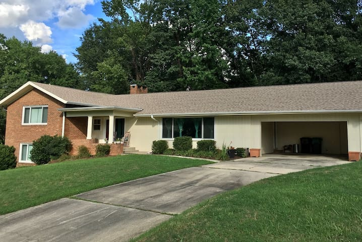 Spacious High Point Home two miles from market
