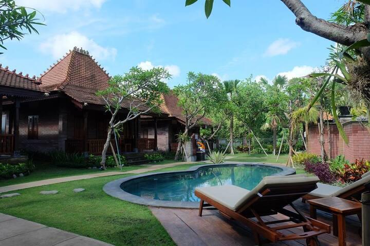 Villa Hening Bali Deluxe 2 - Delod Ubud