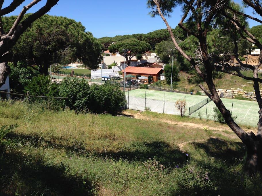Local tennis centre.