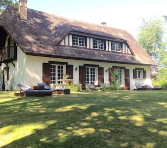 Charmante maison normande dans un écrin de verdure - Corneville-sur-Risle - House