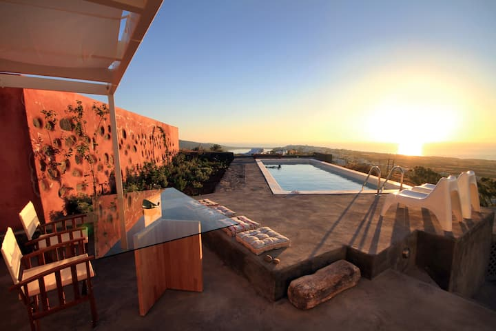 270 Oia's View House I - private pool, Sunset view