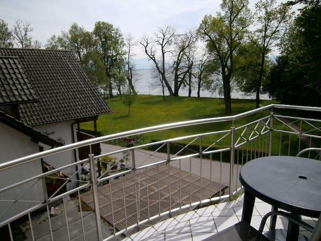 Gästehaus Fischerhäusle, (Wasserburg), Ferienwohnung 3, 33qm, 1 Wohn-/Schlafzimmer, max. 2 Personen