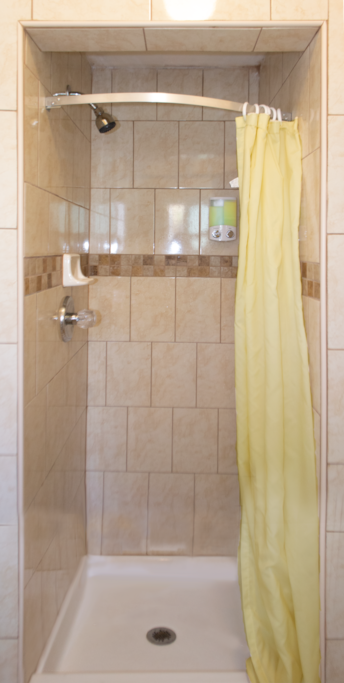 Jack-N-Jill Bathroom With Shower