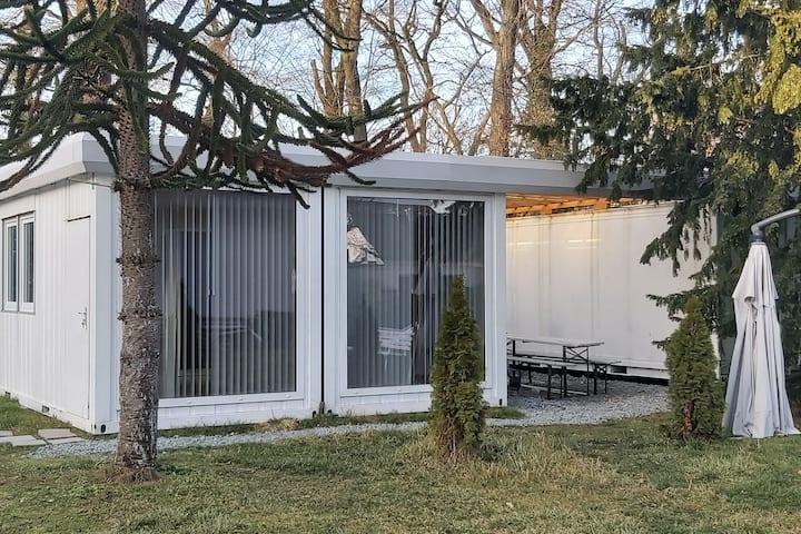 Tiny Haus 30 qm  Duschbad+Wohnschlaf Bereich