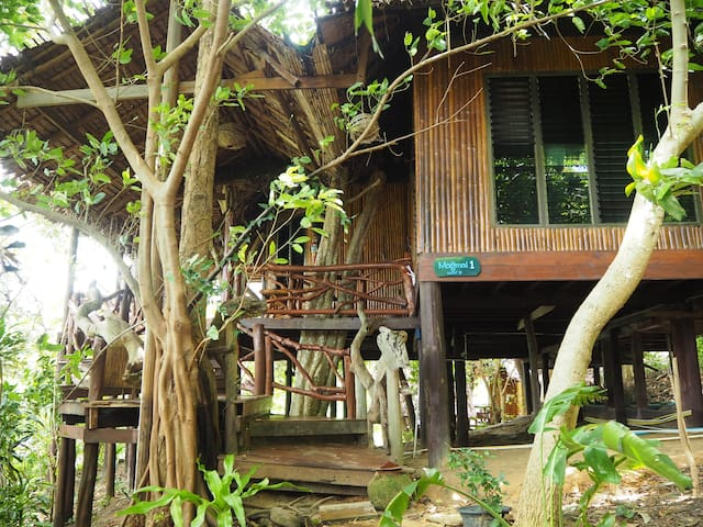 Amazing Bamboo House 2 Bedrooms Makmai 1 Sea View