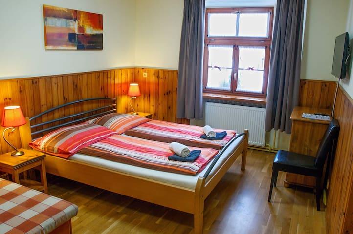 Double room comfort | Penzion Pod Branou