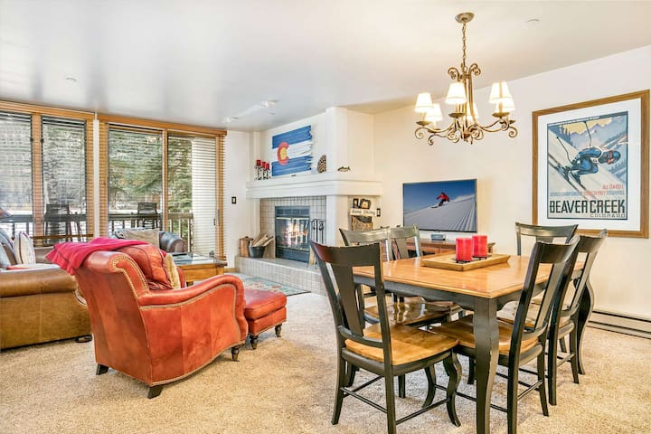 Ski In/Ski Out, Walk to Beaver Creek Village, YR Hot Tub, Convenient Location, Townsend Place Condo!