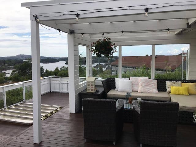 House for rent on Sotra Bergen UCI WC Cycling.